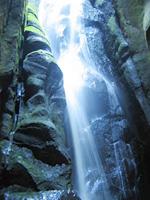 Adršpach – Velký vodopád